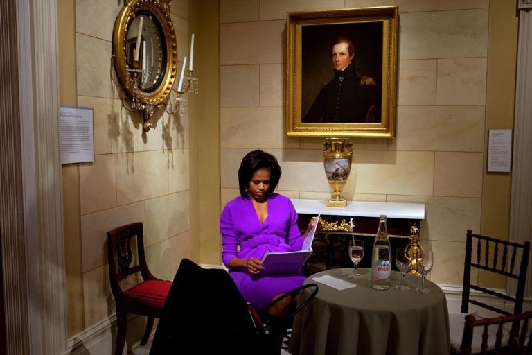 Alfombra roja: Michelle Obama