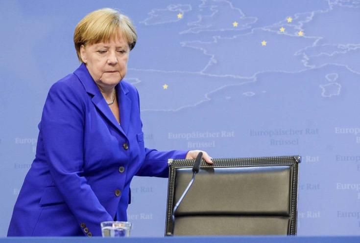La canciller alemana, Angela Merkel. ARCHIVO EFE