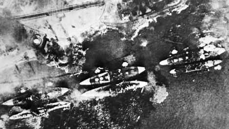 Japan's attack on Pearl Harbor has been the subject of intense scrutiny and countless rehashings. But just as important as the events that unfolded Dec. 7, 1941, are the circumstances leading up to the assault. (HO/AFP/Getty Images)