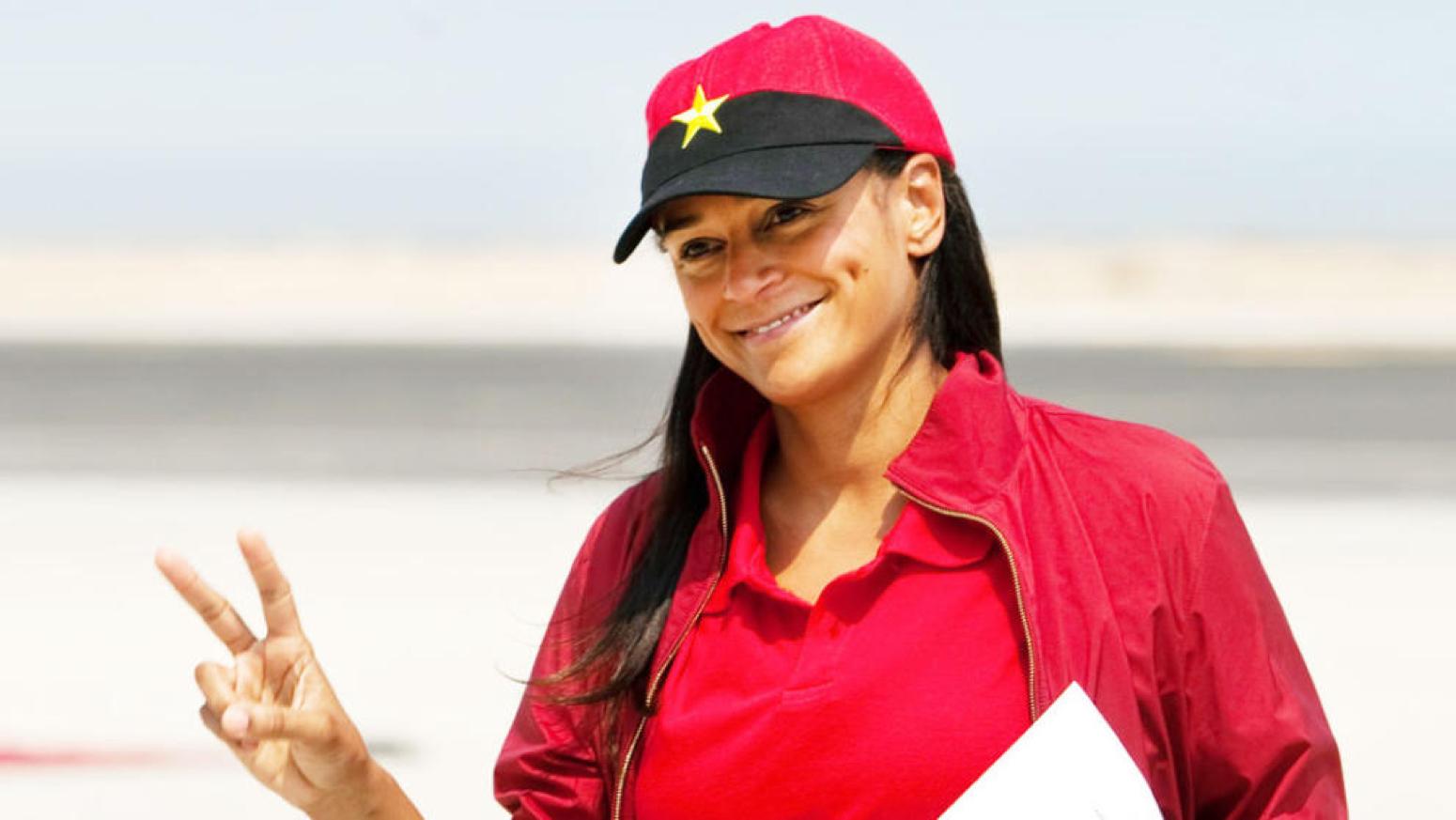 Isabel dos Santos, la mujer más rica de África según 'Forbes' (Archivo).