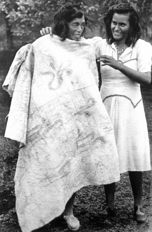 Figura 10. Die Osterinsel 1946.Fotografía de Hans Helfritz en su viaje a Isla de Pascua.