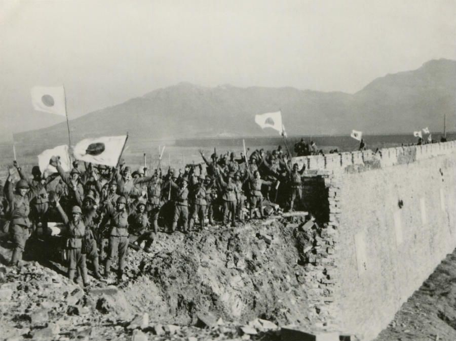 Japanese Soldiers in Nanking, China 1937 (www.shutterstock.com)