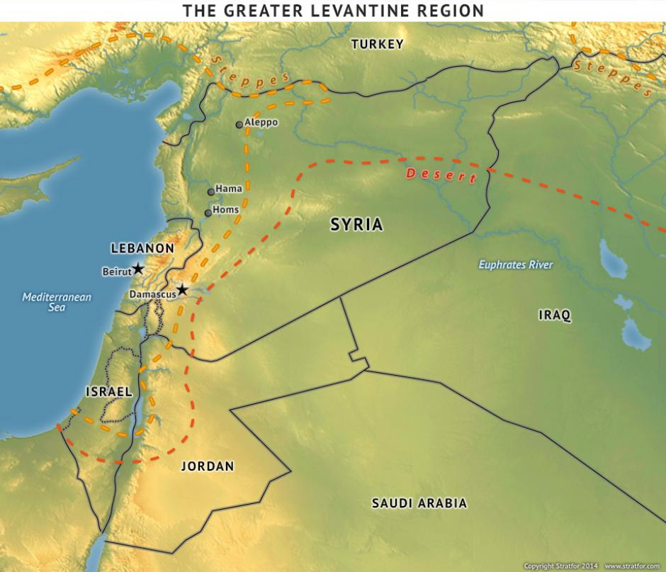 The Geopolitics Of The Syrian Civil War - Where is syria