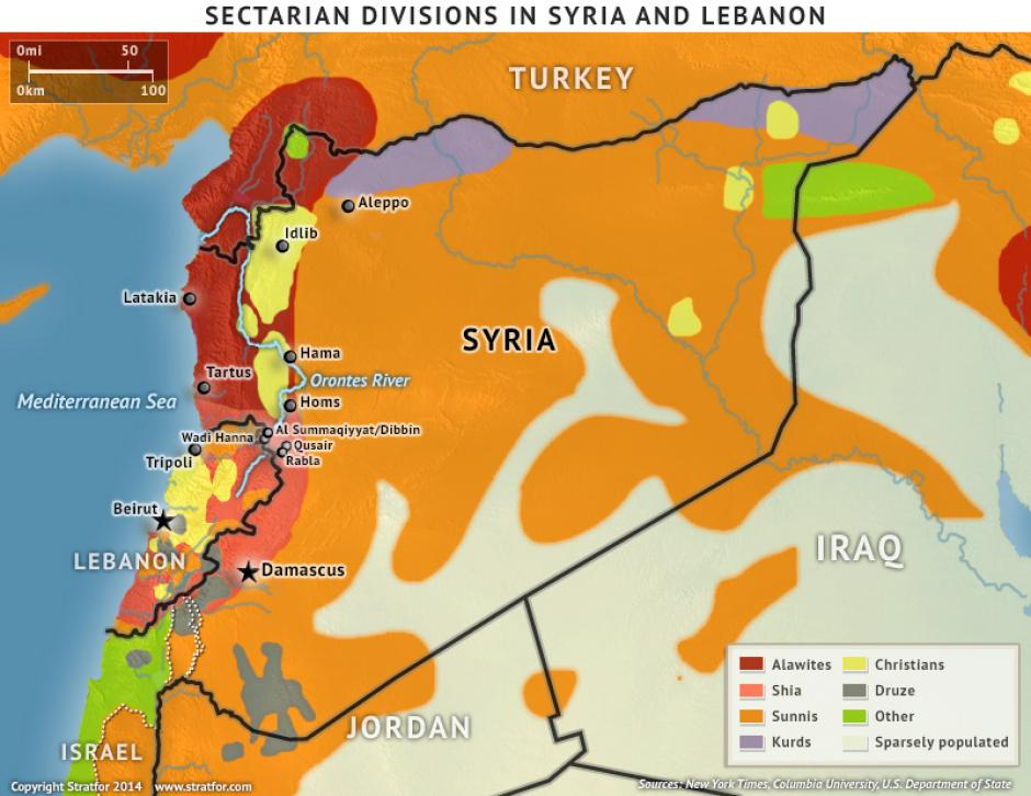 The Geopolitics of the Syrian Civil War